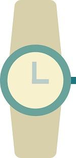 gray wristwatch